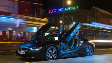 Fun in PHEVs - i8 electric avenue