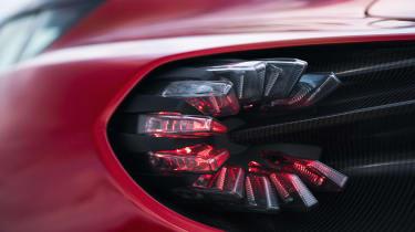 Aston Martin DBS GT Zagato - rear light