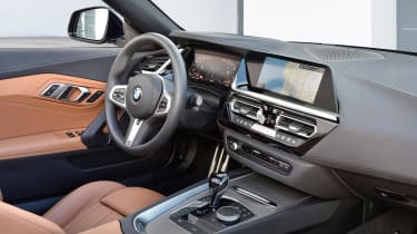 BMW Z4 - cabin