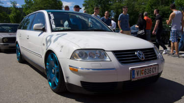 VW Passat - Bentley wheels