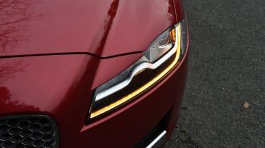 Jaguar XF long term - second report front light detail