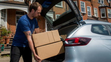 Vauxhall Insignia Sports Tourer - boot