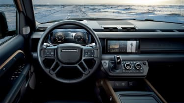 2019 Land Rover Defender interior