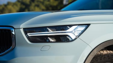 Volvo XC40 SUV - headlight
