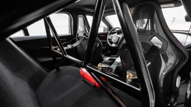 Jaguar XE SV Project 8 - rear seats