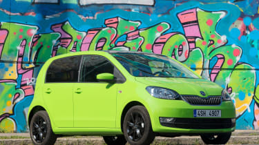 Skoda Citigo - front graffiti