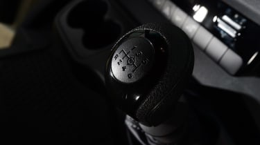 Mercedes Sprinter Van of the Year 2018 rear gear knob