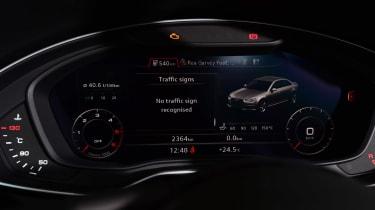 New Audi A4 2016 screen