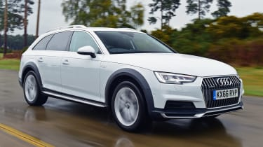 Audi A4 Allroad UK 2016 - front tracking