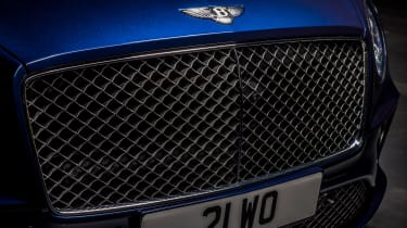Bentley Continental GT Speed convertible - grille