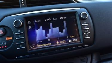 Toyota Yaris GRMN - infotainment graph