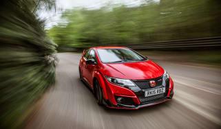 New Honda Civic Type R 2015 action