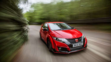 New Honda Civic Type R 2015 action