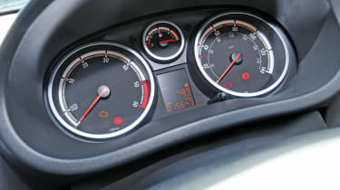 Vauxhall Corsa dials
