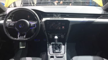 Volkswagen Arteon official - R-Line Geneva interior
