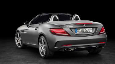 Mercedes SLC roadster - rear studio