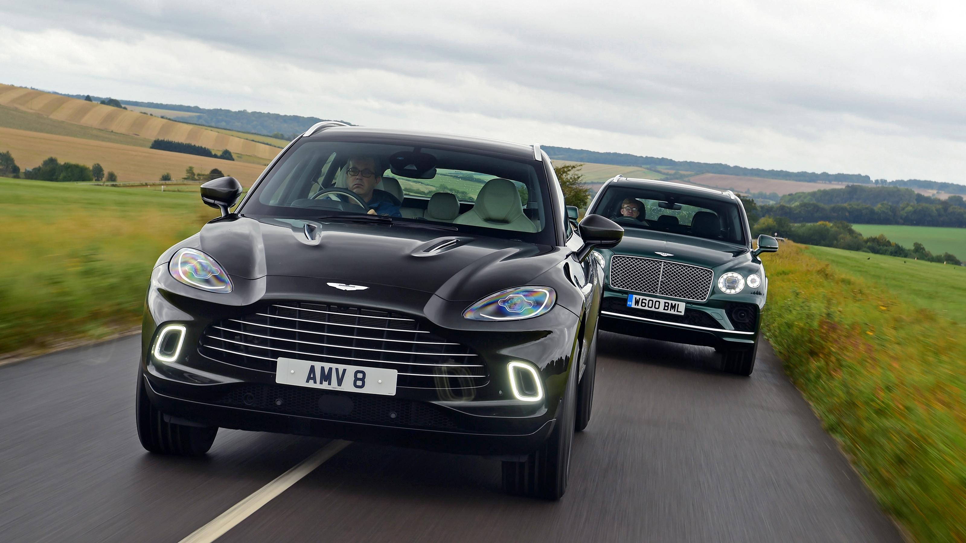 Aston Martin Dbx Vs Bentley Bentayga Auto Express