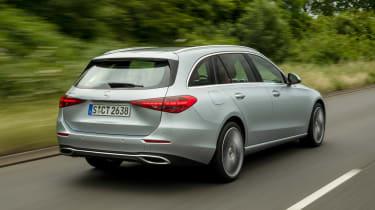 Mercedes C-Class Estate - rear