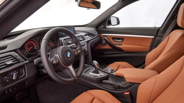 BMW 340i GT - front seats