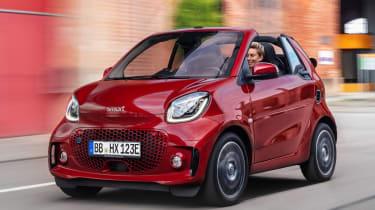 Smart EQ ForTwo Cabrio - front