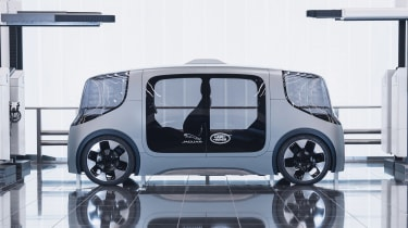Jaguar Land Rover Project Vector - side