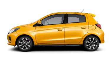 Mitsubishi Mirage - studio side
