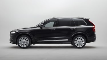 Volvo XC90 Armoured - side static