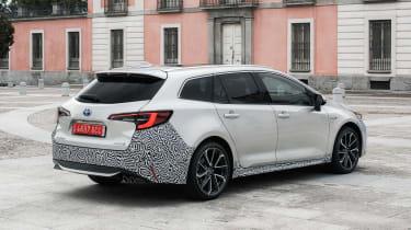 Toyota Corolla Touring Sports prototype - rear static
