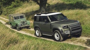 2019 Land Rover Defender greenlaning