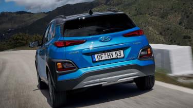 Hyundai Kona hybrid - rear