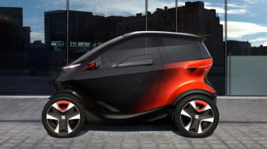 SEAT Minimo concept - side