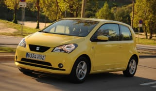 SEAT Mii front tracking
