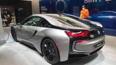 BMW i8 Coupe - Detroit rear