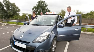 Driving lessons learner driver driving test