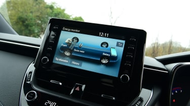 Suzuki Swace - screen