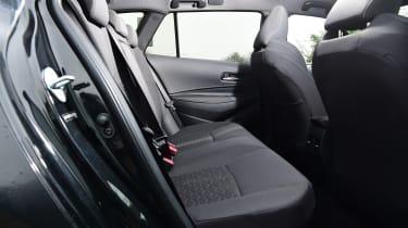 Suzuki Swace rear seats