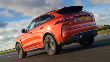 Jaguar F-Pace SVR -rear