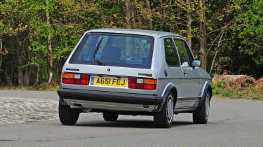 VW Golf Mk1 rear cornering