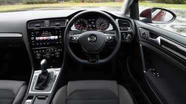 vw golf estate interior