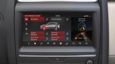 Jaguar E-Pace - screen