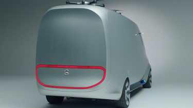 Mercedes Vision Van - video rear