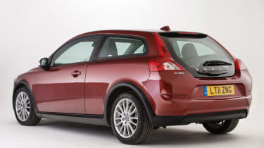 Used Volvo C30 - rear