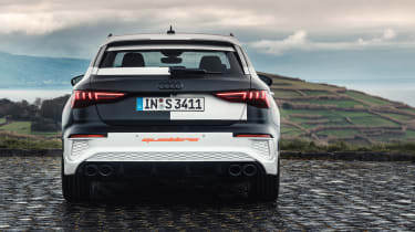 Audi S3 prototype - full rear static