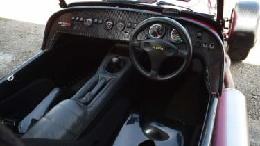 Caterham Seven 420R - interior