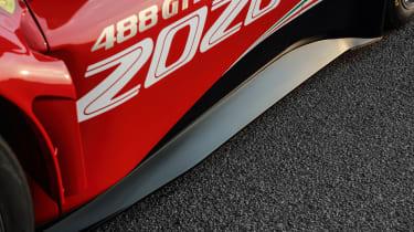 Ferrari 488 GT3 EVO - side skirt