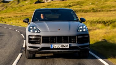 Porsche Cayenne Coupe Turbo GT - full front