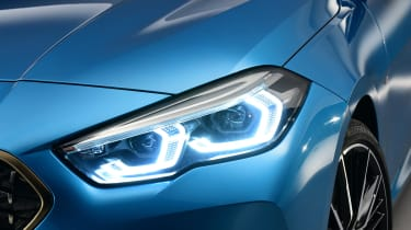 BMW 2 Series Gran Coupe - headlight studio