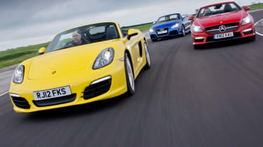 Porsche Boxster S vs rivals