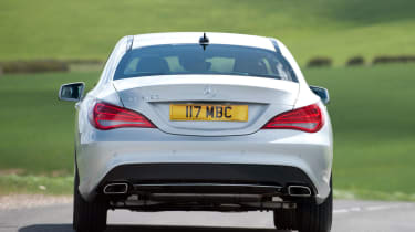 Mercedes CLA 180 rear