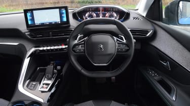 New Peugeot 3008 facelift 2020 interior